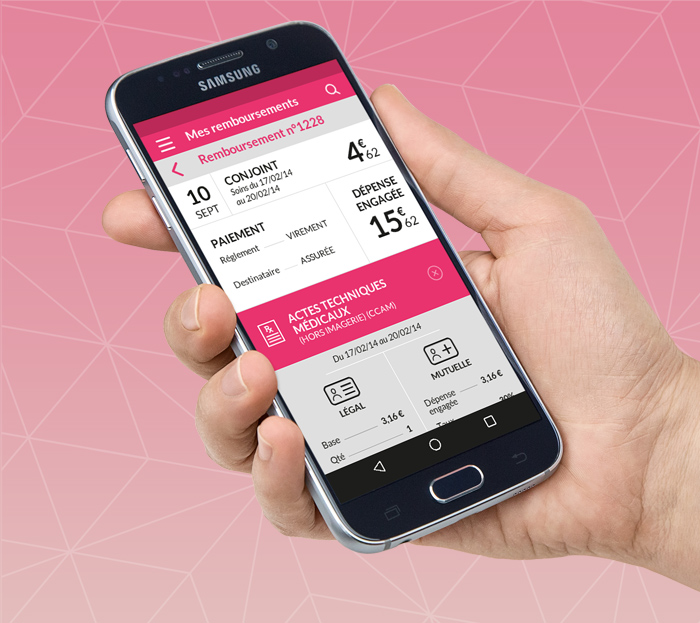 SMEBA, l'application mobile