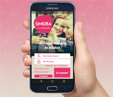 SMEBA, l'application mobile