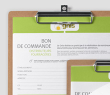 GNIS, Bon de commande