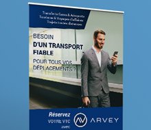 Arvey : l'application mobile pour réserver un véhicule avec chauffeur
