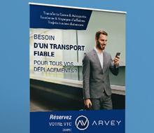 Arvey : l'application mobile pour réserver un véhicule avec chauffeur