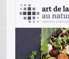 Art de la Table – Refonte logotype et création d'étiquette produit