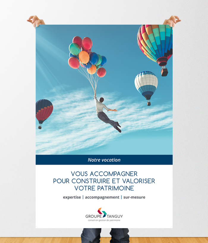 Groupe TANGUY – Création de 3 affiches pour les agences de Rennes et Nantes